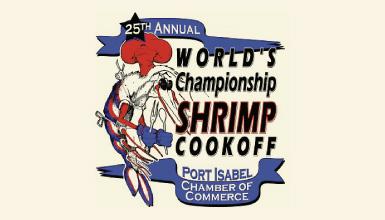 Shrimp championship cookoff logo